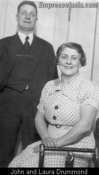 John Drummond and wife, Laura Tait